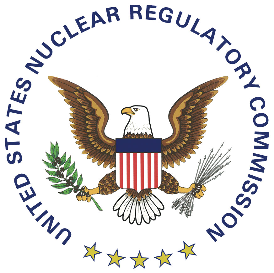 The United States Nuclear Regulatory Commissiion (NRC) is tasked with monitoring and regulating US nuclear power plants