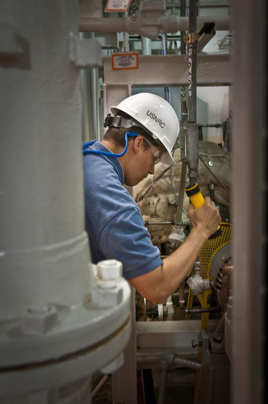 NRC Resident Inspectors perform Inspections at the Nuclear Power Plants by Nuclear Regulatory Commission, used under CC BY 2.0