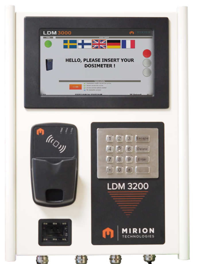Ldm 3200 Rca Entry Exit Reader