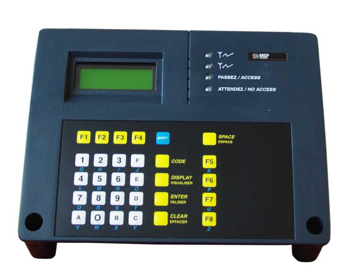 Ldm 2000 Rugged Industrial Dosimeter Reader